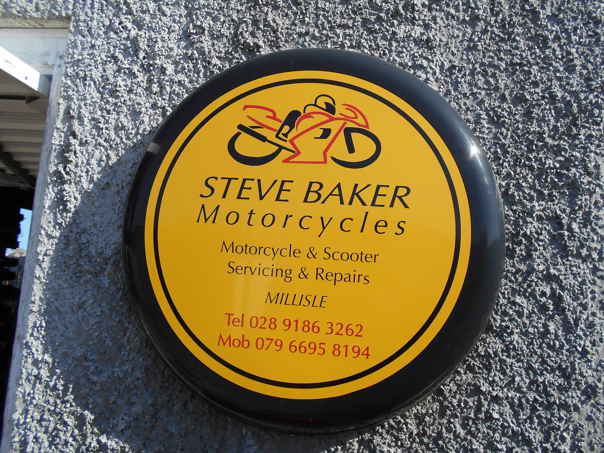 Steve Baker On 2 Wheels